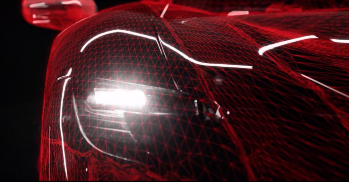 ferrari tunjuk teaser hybrid supercar baharu. Black Bedroom Furniture Sets. Home Design Ideas