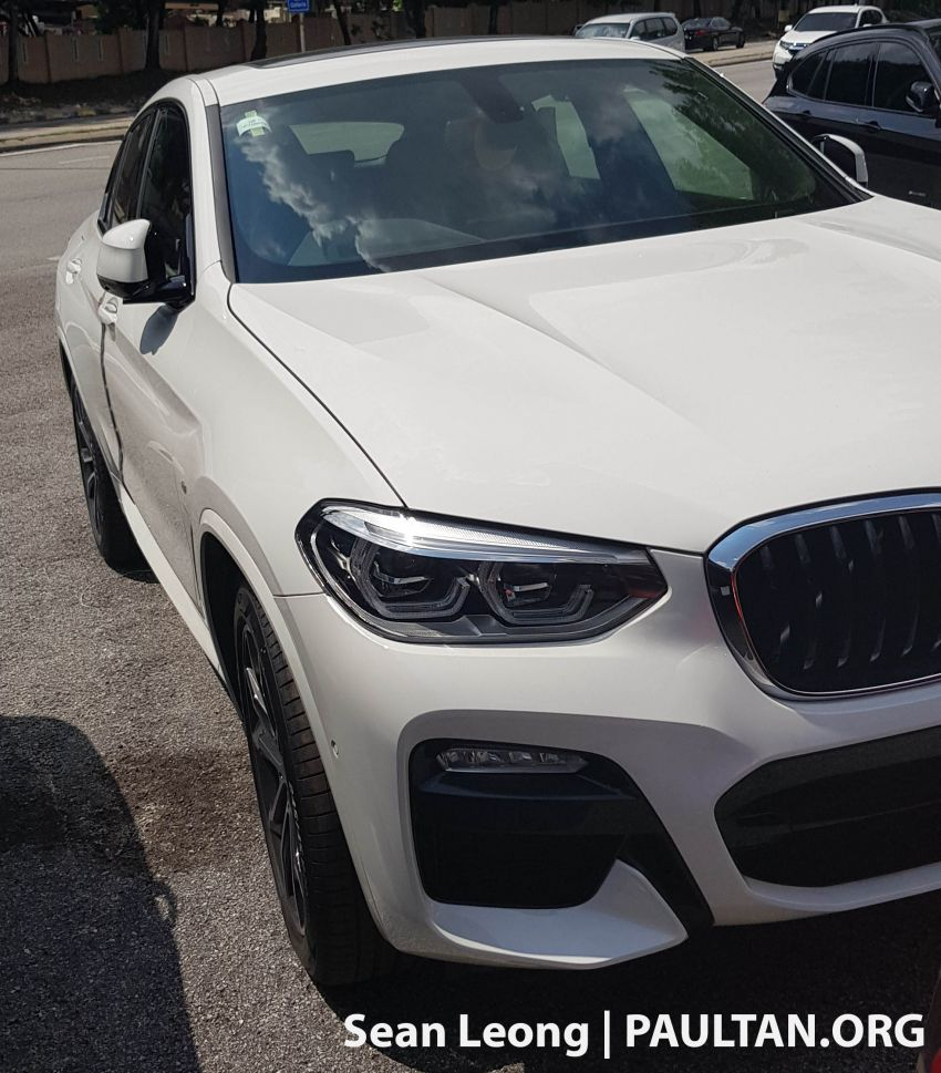 SPYSHOTS: G05 BMW X5 xDrive40i and G02 X4 xDrive30i spotted in Malaysia – both with M Sport kit Image #963113