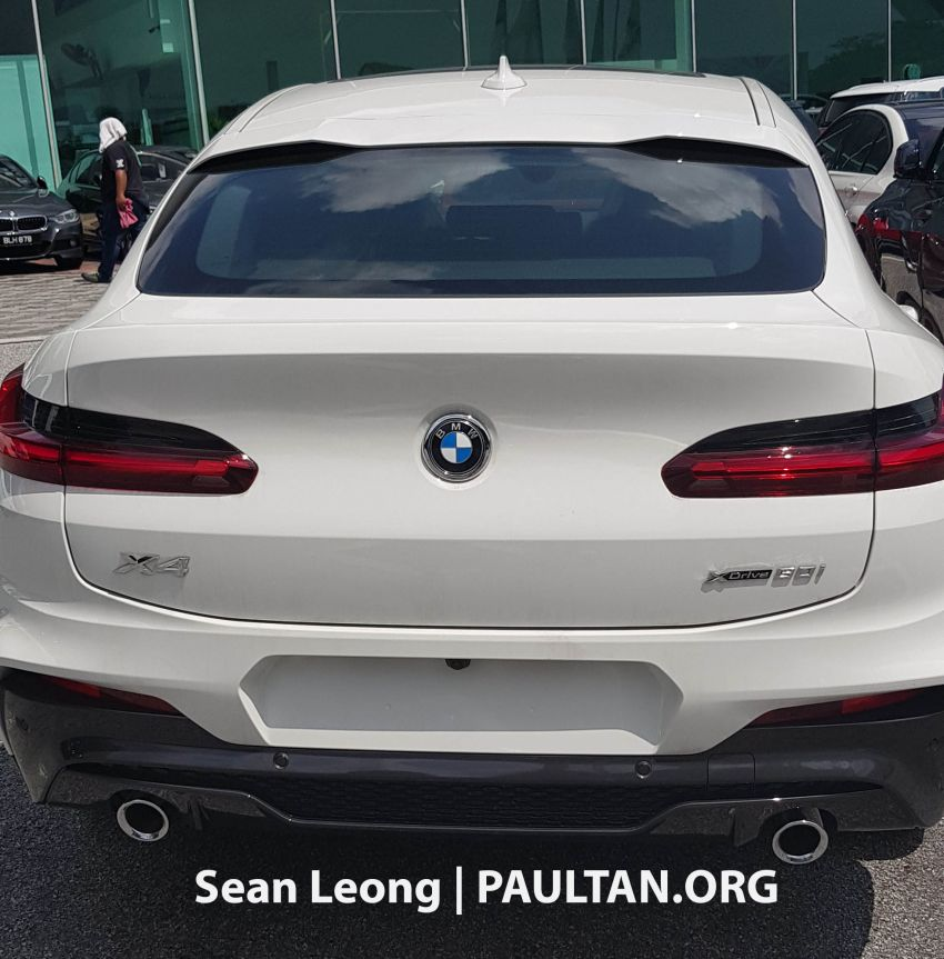 SPYSHOTS: G05 BMW X5 xDrive40i and G02 X4 xDrive30i spotted in Malaysia – both with M Sport kit Image #963115
