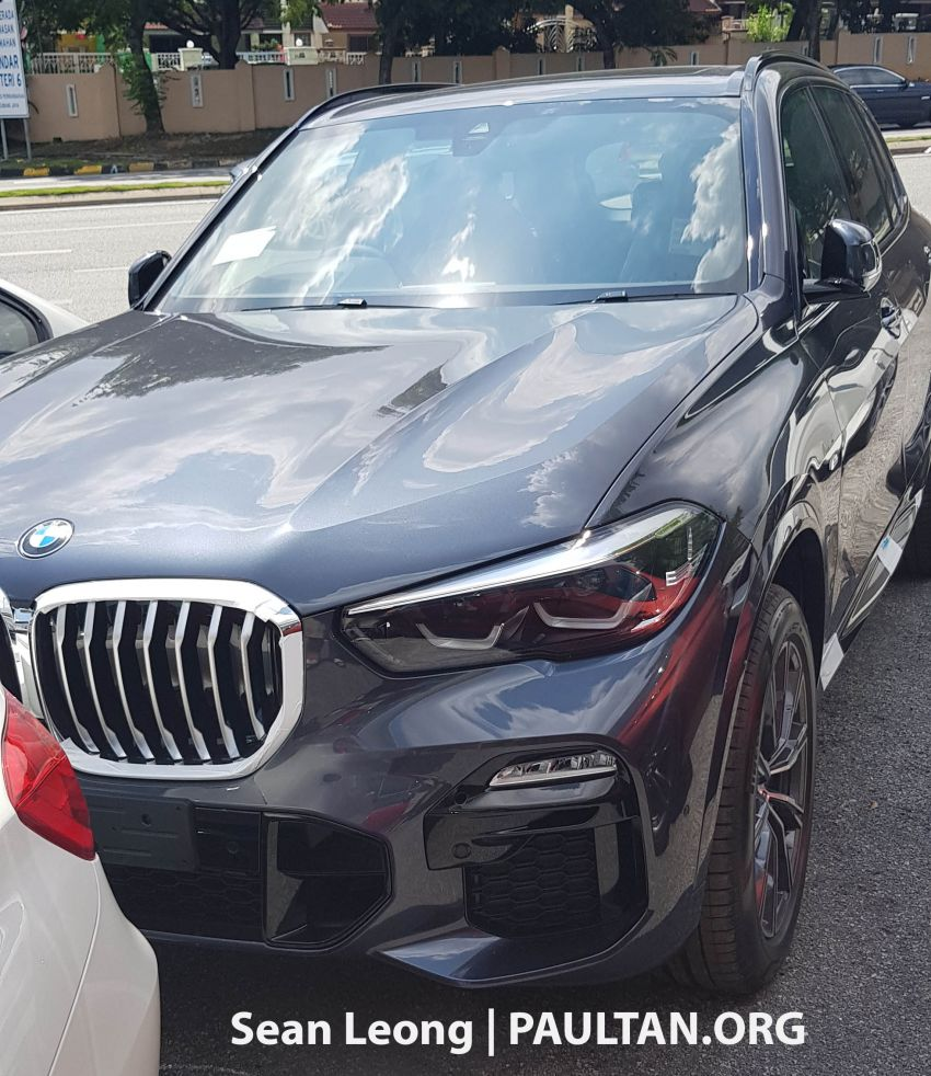 SPYSHOTS: G05 BMW X5 xDrive40i and G02 X4 xDrive30i spotted in Malaysia – both with M Sport kit Image #963116