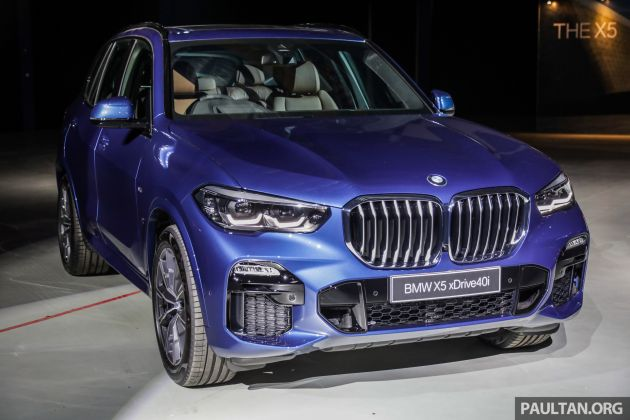 g05 bmw x5 previewed in malaysia xdrive40i m sport cbu coming in august priced at rm640 000 estimated