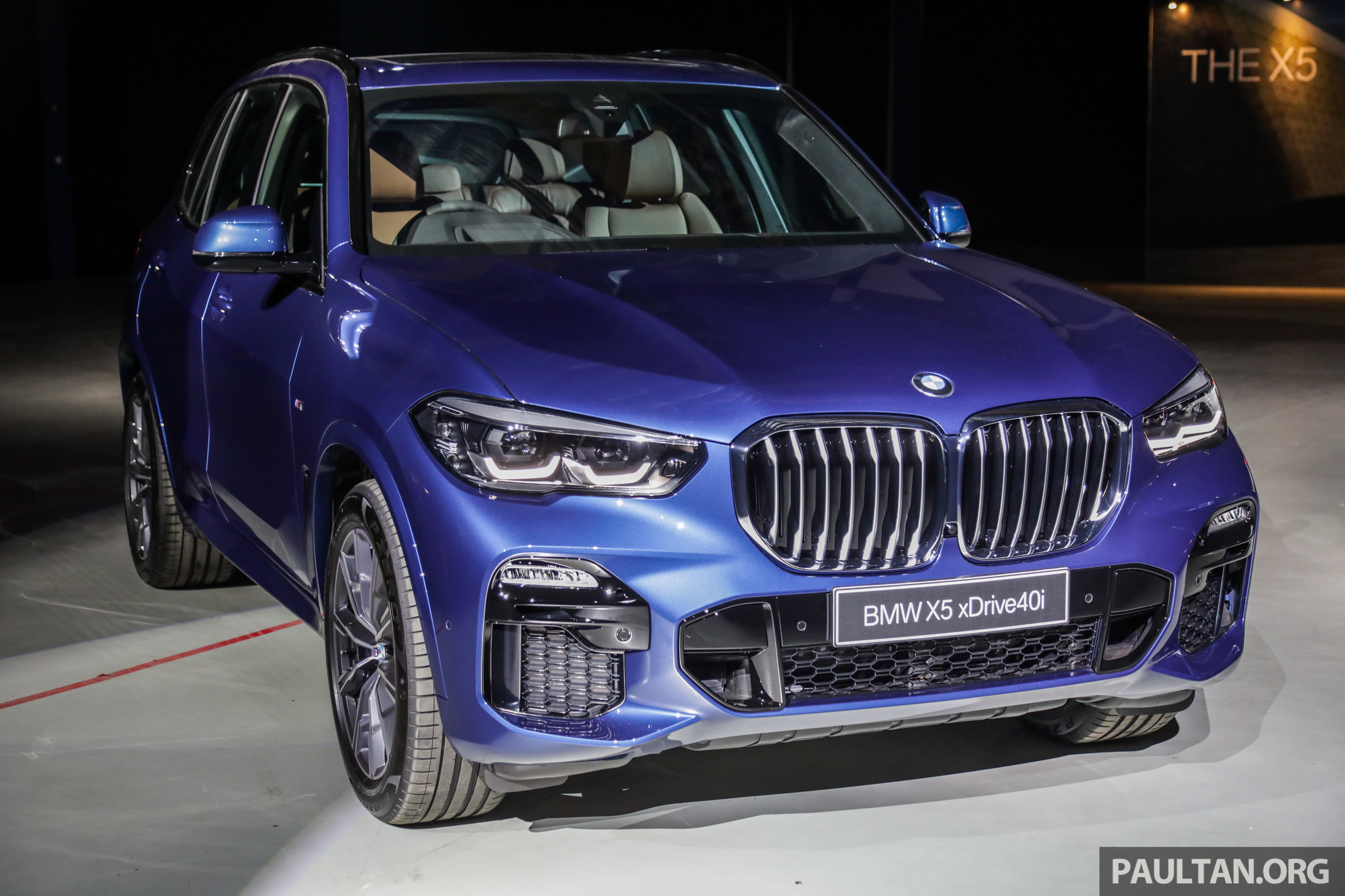 G05 Bmw X5 Previewed In Malaysia Xdrive40i M Sport Cbu Coming In August Priced At Rm640 000 Estimated Paultan Org