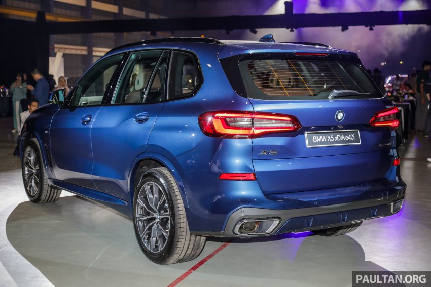 G05 BMW X5 previewed in Malaysia: xDrive40i M Sport CBU coming in August, priced at RM640,000 estimated Image #965625