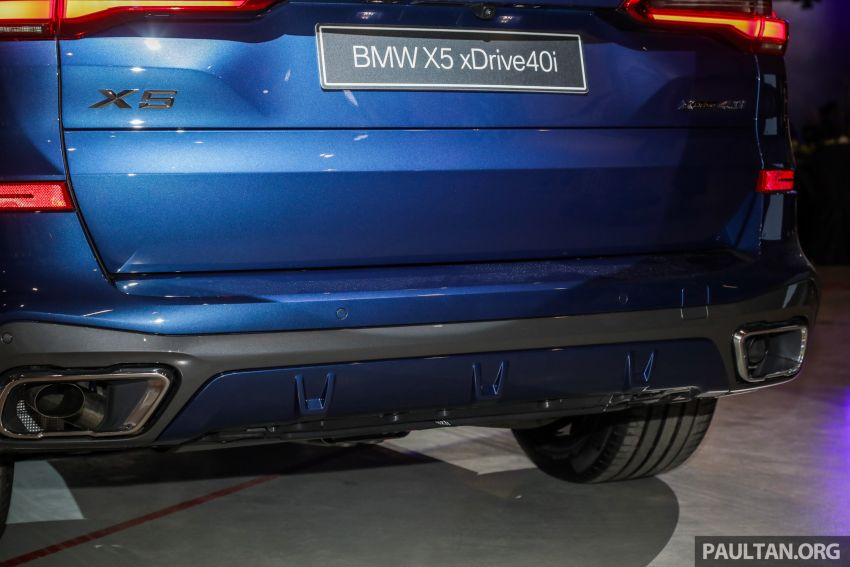 G05 BMW X5 previewed in Malaysia: xDrive40i M Sport CBU coming in August, priced at RM640,000 estimated Image #965780