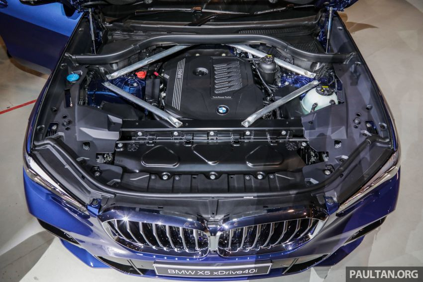 G05 BMW X5 previewed in Malaysia: xDrive40i M Sport CBU coming in August, priced at RM640,000 estimated Image #965806