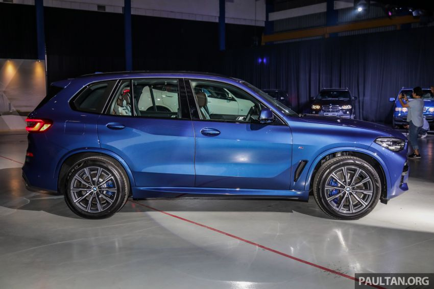 G05 BMW X5 previewed in Malaysia: xDrive40i M Sport CBU coming in August, priced at RM640,000 estimated Image #965626