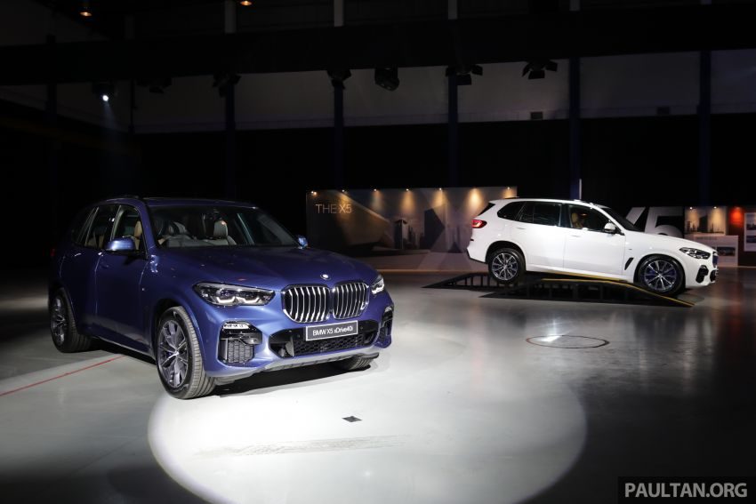 G05 BMW X5 previewed in Malaysia: xDrive40i M Sport CBU coming in August, priced at RM640,000 estimated Image #965813