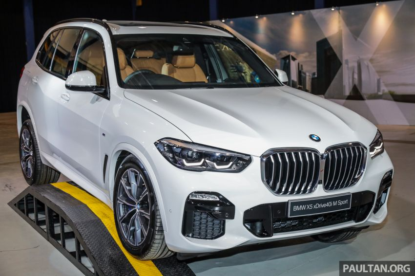G05 BMW X5 previewed in Malaysia: xDrive40i M Sport CBU coming in August, priced at RM640,000 estimated Image #965819