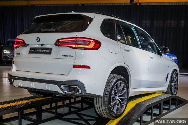 G05 Bmw X5 Official Malaysian Pricing Revealed Sole Xdrive40i M Sport Cbu Variant Offered From Rm618 800 Paultan Org