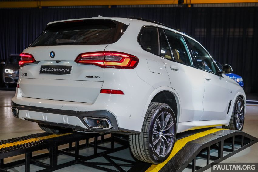 G05 BMW X5 previewed in Malaysia: xDrive40i M Sport CBU coming in August, priced at RM640,000 estimated Image #965824