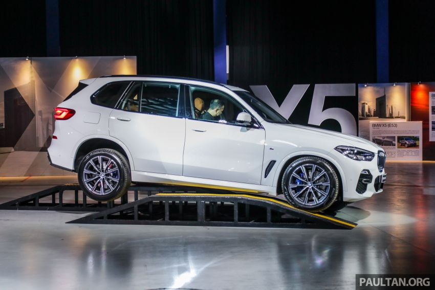G05 BMW X5 previewed in Malaysia: xDrive40i M Sport CBU coming in August, priced at RM640,000 estimated Image #965830
