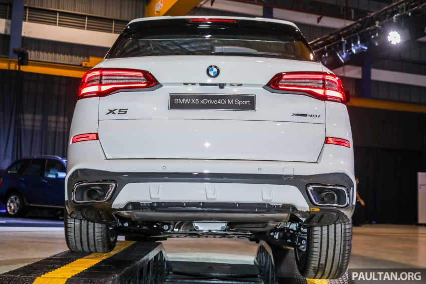 G05 BMW X5 previewed in Malaysia: xDrive40i M Sport CBU coming in August, priced at RM640,000 estimated Image #965834