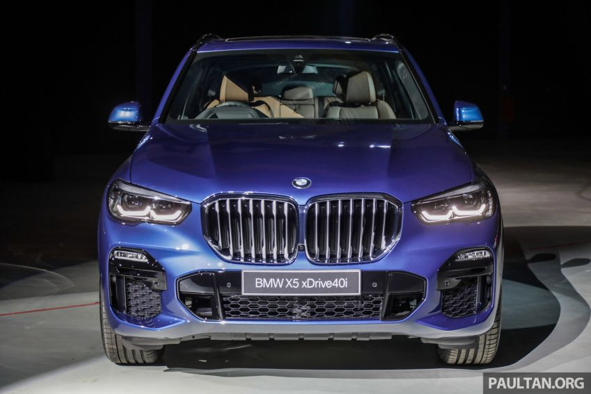 G05 BMW X5 previewed in Malaysia: xDrive40i M Sport CBU coming in August, priced at RM640,000 estimated Image #965627