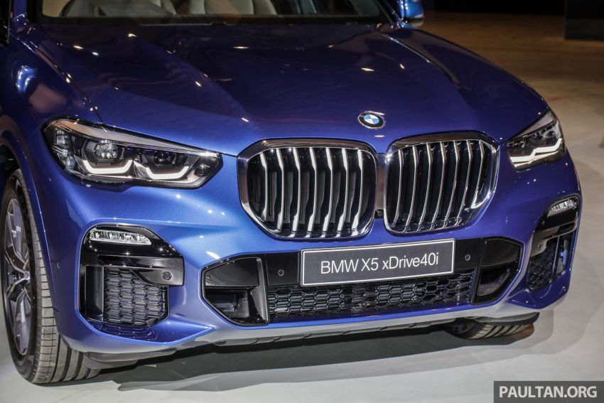 G05 BMW X5 previewed in Malaysia: xDrive40i M Sport CBU coming in August, priced at RM640,000 estimated Image #965629