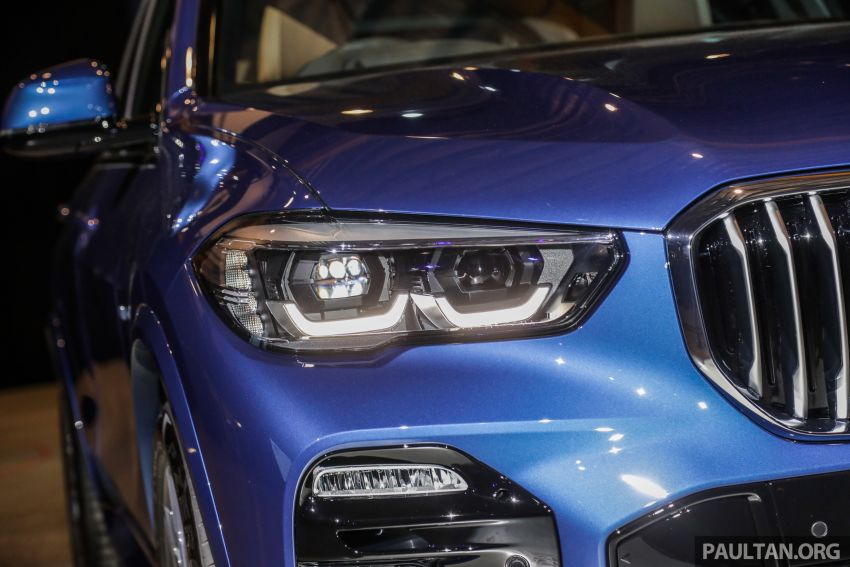 G05 BMW X5 previewed in Malaysia: xDrive40i M Sport CBU coming in August, priced at RM640,000 estimated Image #965634