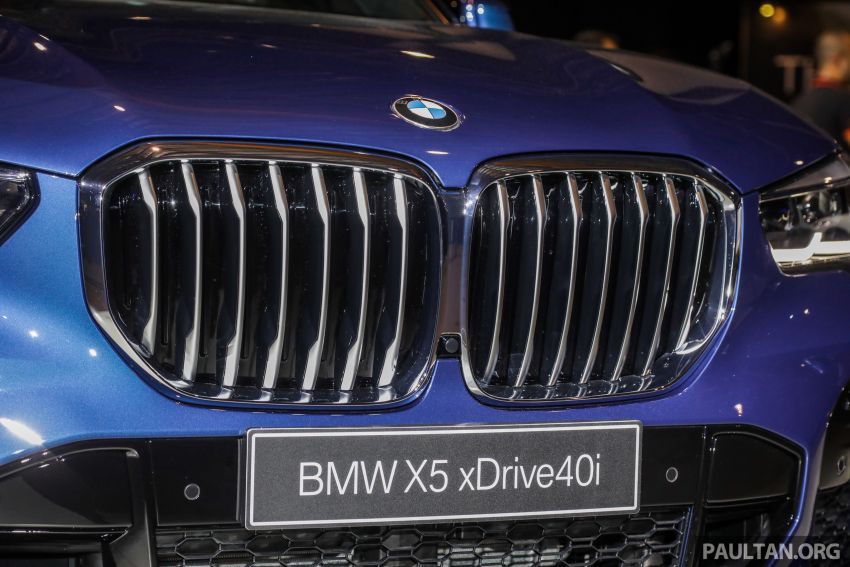 G05 BMW X5 previewed in Malaysia: xDrive40i M Sport CBU coming in August, priced at RM640,000 estimated Image #965645