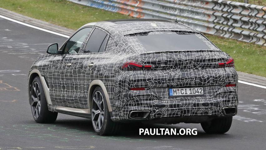 SPYSHOTS: G06 BMW X6 seen – interior gets revealed Image #957356