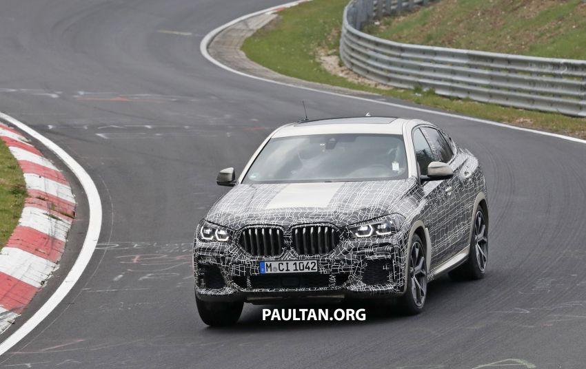 SPYSHOTS: G06 BMW X6 seen – interior gets revealed Image #957349