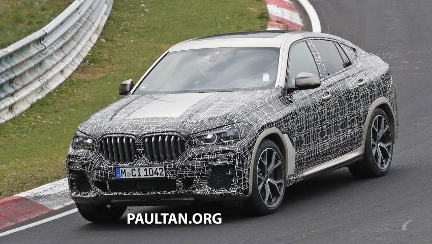SPYSHOTS: G06 BMW X6 seen – interior gets revealed Image #957350
