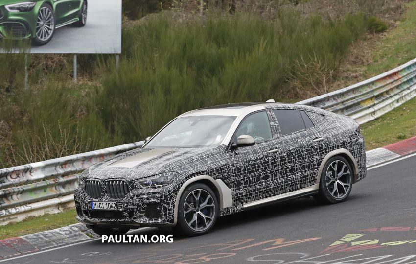 SPYSHOTS: G06 BMW X6 seen – interior gets revealed Image #957351