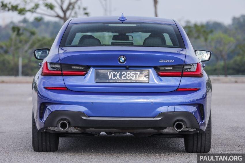 FIRST DRIVE: 2019 G20 BMW 330i M Sport – RM329k Image #961804