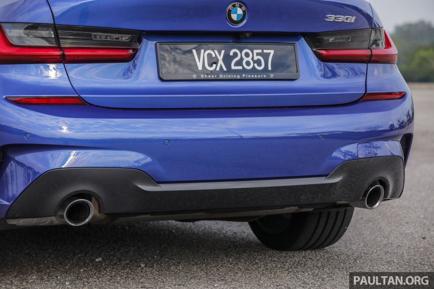 FIRST DRIVE: 2019 G20 BMW 330i M Sport – RM329k Image #961823