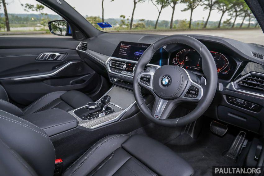 FIRST DRIVE: 2019 G20 BMW 330i M Sport – RM329k Image #961829