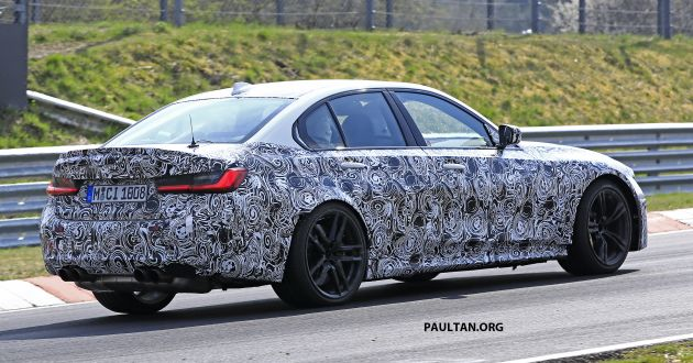 Spied G80 Bmw M3 Seen At The Nurburgring Again