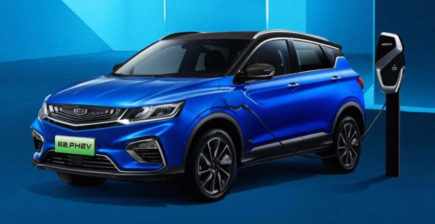Geely Binyue PHEV plug-in hybrid SUV launching soon – will we get it as the Proton X50 PHEV? Image #956707