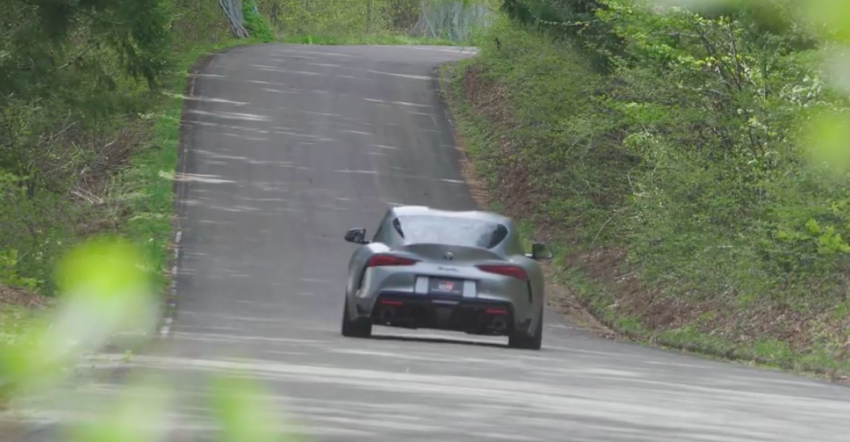VIDEO: HKS tests exhaust, suspension for A90 Supra Image #961413