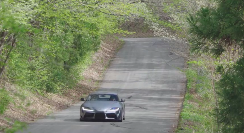VIDEO: HKS tests exhaust, suspension for A90 Supra Image #961416