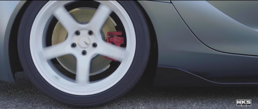 VIDEO: HKS tests exhaust, suspension for A90 Supra Image #961410