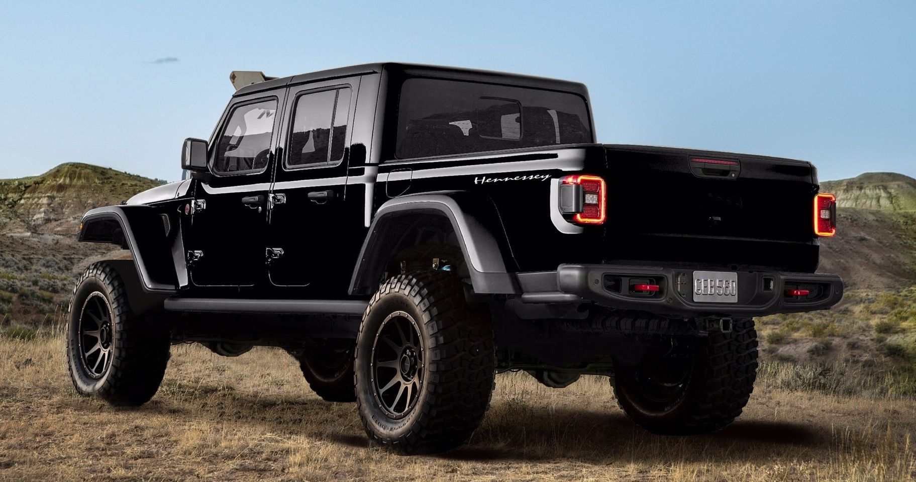 Say Hello To Hennessey's 1000-HP Hellcat-Powered Jeep Gladiator