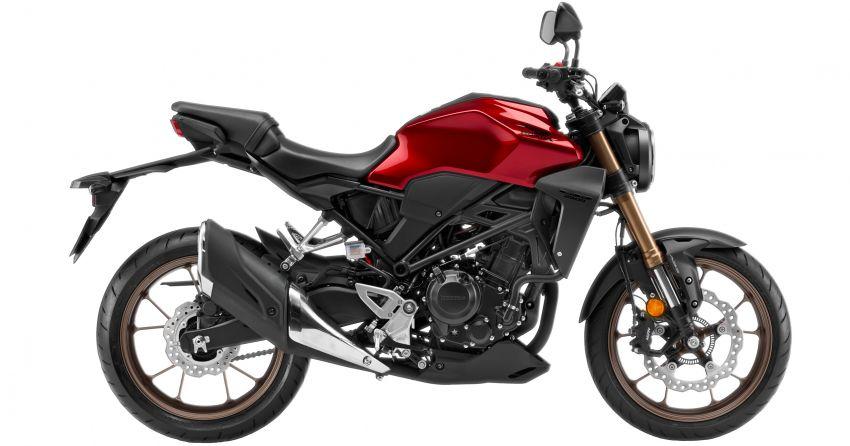 Honda CB250R dan CRF250 Rally ditawarkan dalam warna baru – harga masing-masing RM23k dan RM27k Image #960560