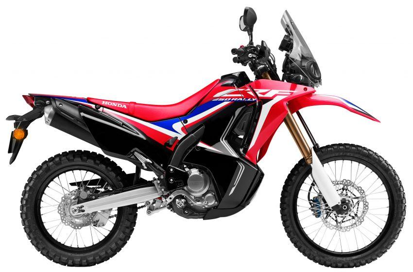 Honda CB250R dan CRF250 Rally ditawarkan dalam warna baru – harga masing-masing RM23k dan RM27k Image #960542