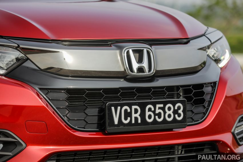 GALLERY: Honda HR-V RS with full-black interior Image #961550