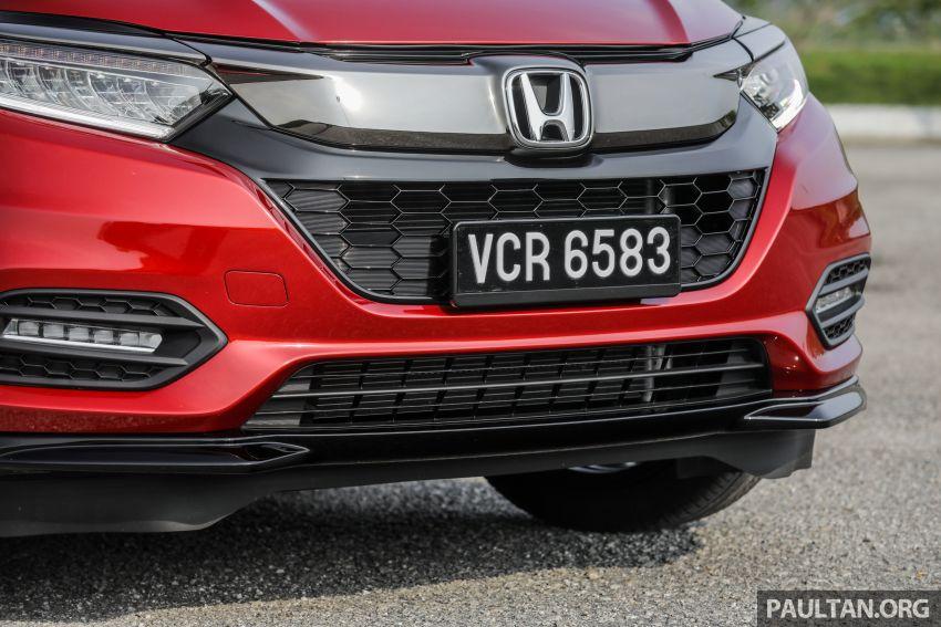 GALLERY: Honda HR-V RS with full-black interior Image #961552