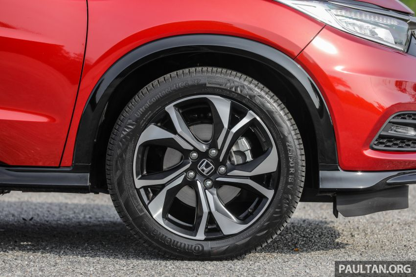 GALLERY: Honda HR-V RS with full-black interior Image #961554