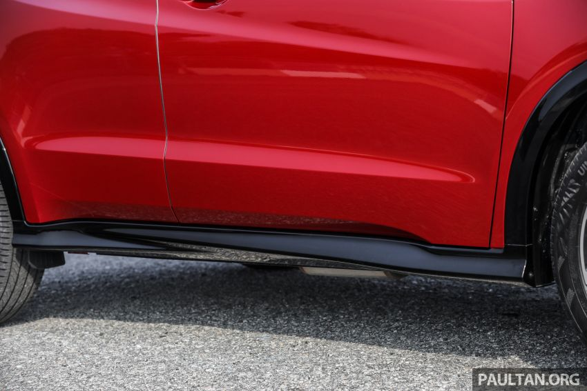 GALLERY: Honda HR-V RS with full-black interior Image #961563