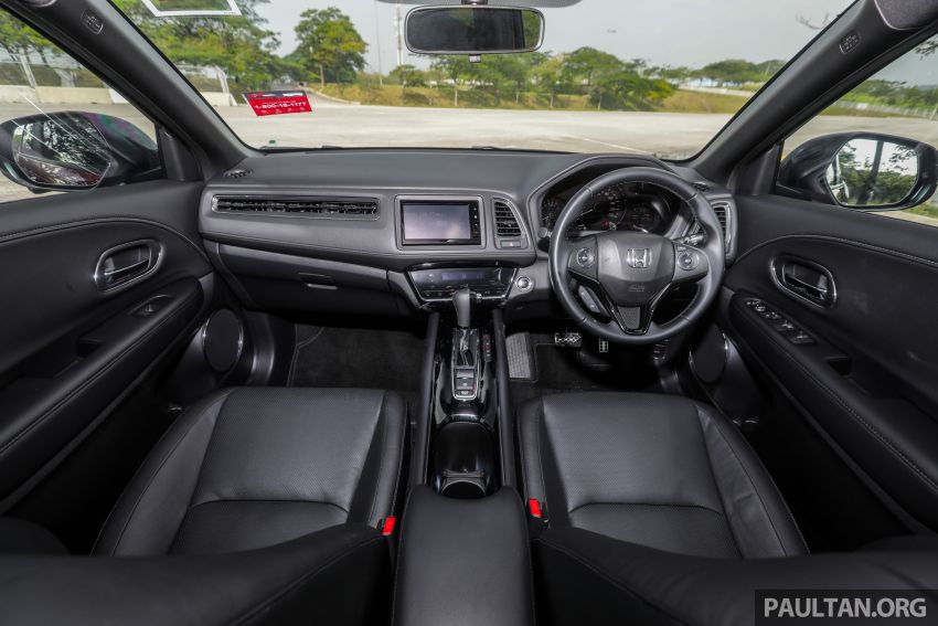 GALLERY: Honda HR-V RS with full-black interior Image #961584