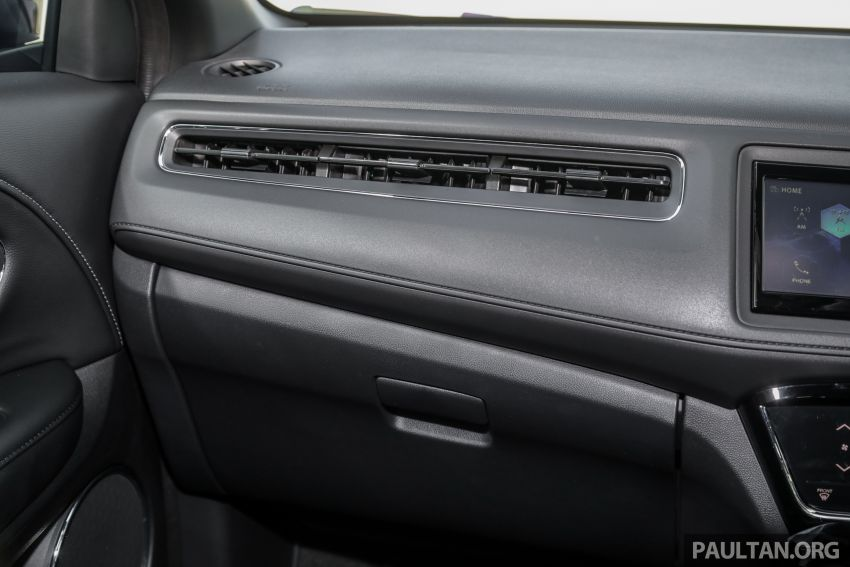 GALLERY: Honda HR-V RS with full-black interior Image #961617
