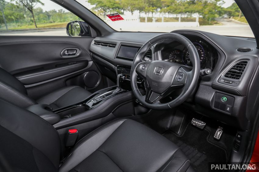 GALLERY: Honda HR-V RS with full-black interior Image #961586