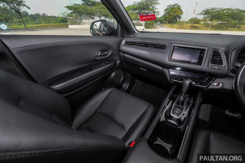 GALLERY: Honda HR-V RS with full-black interior Image #961491