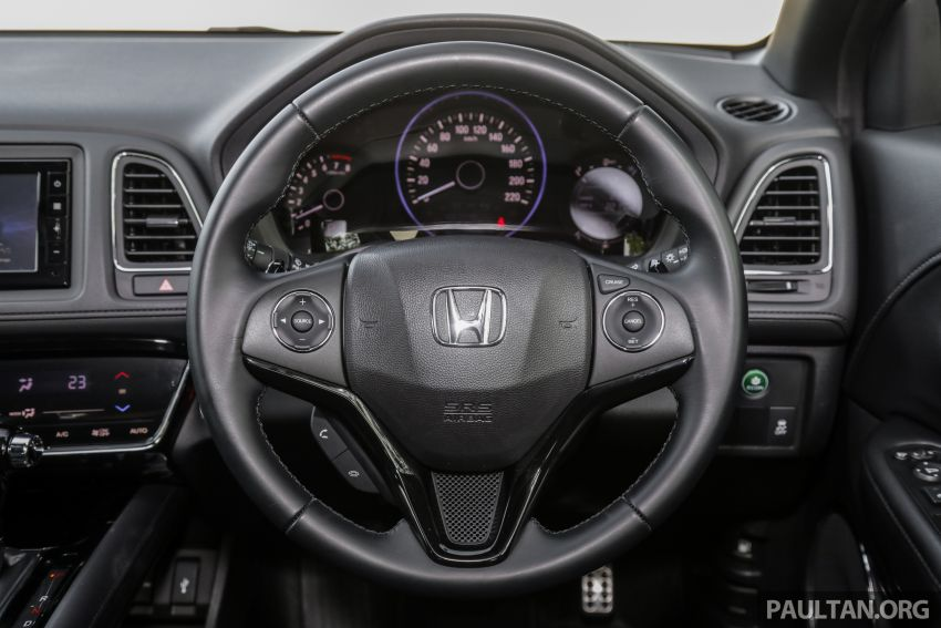 GALLERY: Honda HR-V RS with full-black interior Image #961588