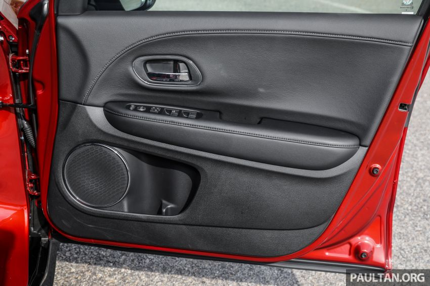 GALLERY: Honda HR-V RS with full-black interior Image #961497
