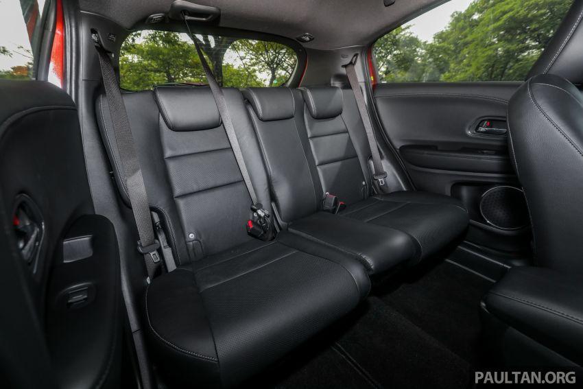 GALLERY: Honda HR-V RS with full-black interior Image #961503
