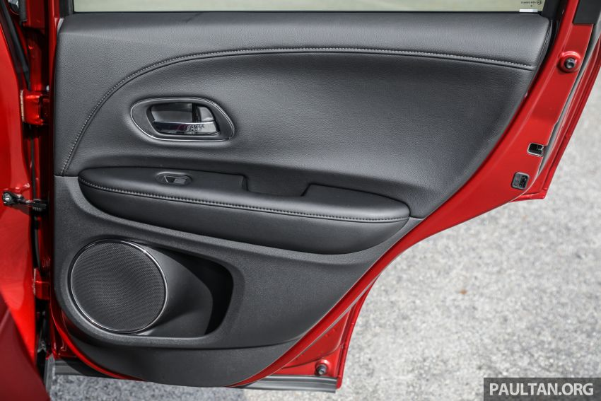 GALLERY: Honda HR-V RS with full-black interior Image #961508