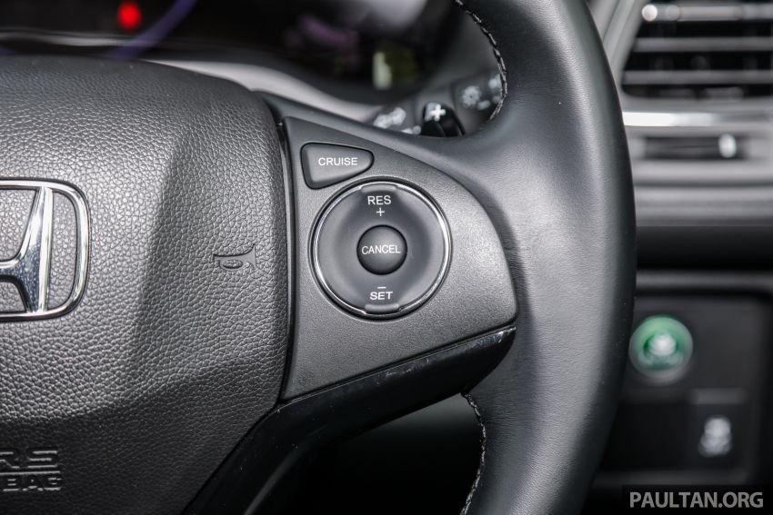 GALLERY: Honda HR-V RS with full-black interior Image #961594