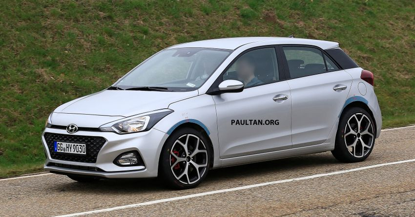 SPIED: Hyundai i20 N – 200 hp Polo GTi rival spotted! Image #958415