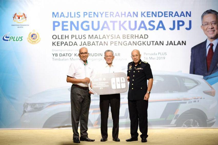 PLUS hands over 10 units of Honda CR-V 2.0L to JPJ Image #960487